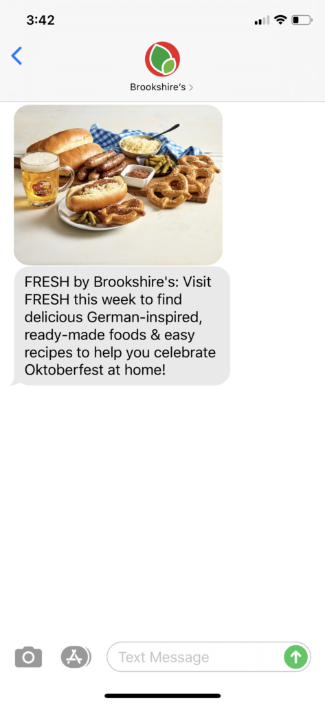 Brookshire's Text Message Marketing Example2 - 09.14.2020