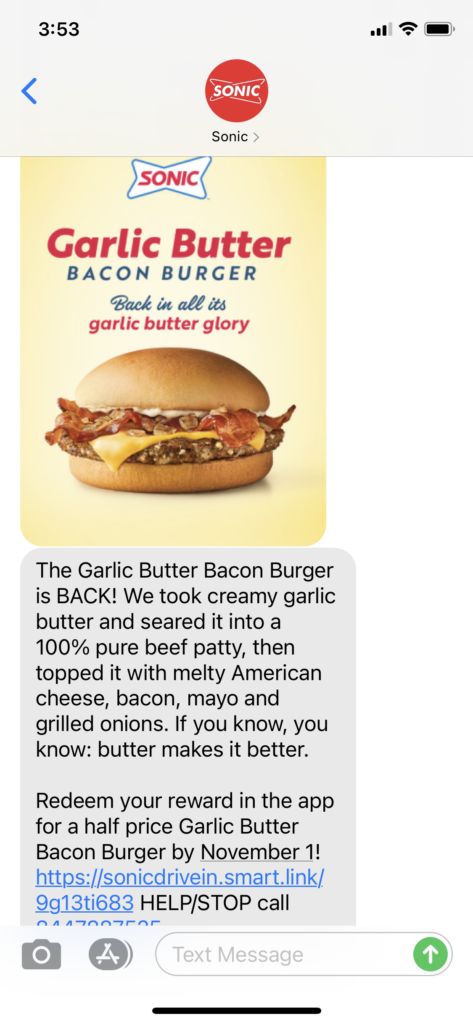 Sonic Text Message Marketing Example - 10.01.2020.png