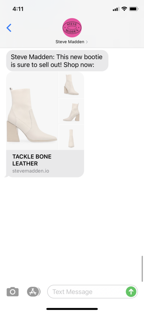 Steve Madden Text Message Marketing Example - 09.29.2020.png