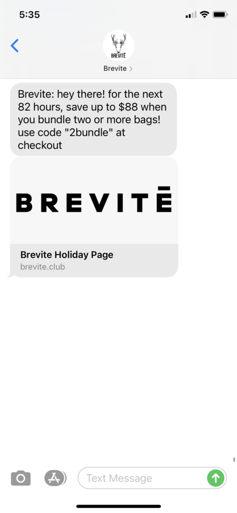 Brevite Text Message Marketing Example - 11.23.2020.PNG