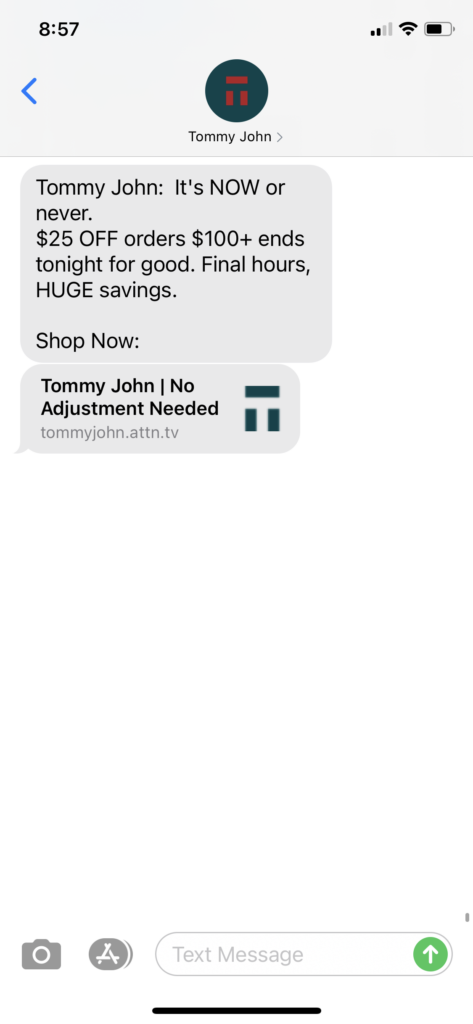 Tommy John Text Message Marketing Example - 12.15.2020.PNG