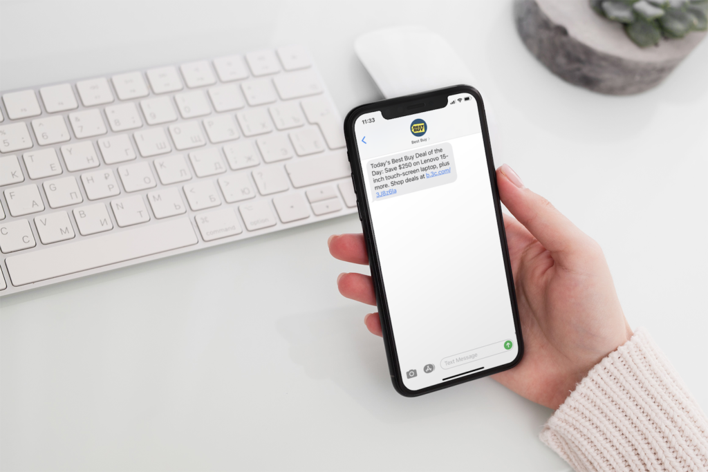 what can I send with text message marketing?
